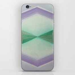 """Unnamed Series No. 8 """"Light Blue"""" iPhone Skin"""