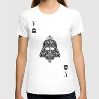 card T-shirts featuring Darth Vader Card by Sitchko Igor