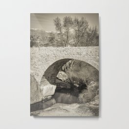 Medieval bridge Metal Print