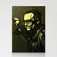 u2 Stationery Cards featuring U2 / Bono 1 by JR van Kampen