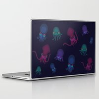 squid Laptop & iPad Skins featuring Squid by Steph Chen