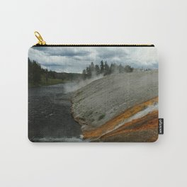 Thermal Geyser Runoff Into Firehole River Carry-All Pouch