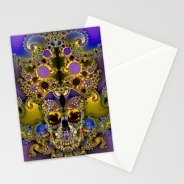 Skull of Mirth Stationery Cards