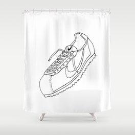 A Shoe Shower Curtain