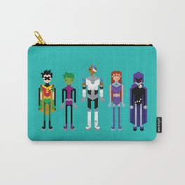 Teenage Superheroes Carry-All Pouch