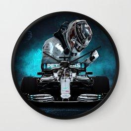 Lewis Hamilton Formula 1 Wall Clock