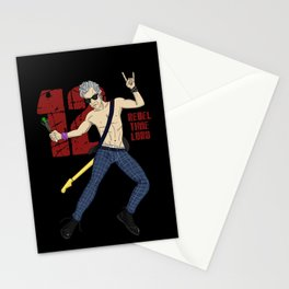 Rebel Time Lord Stationery Cards