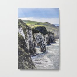 Travel to Ireland: A Castle View Metal Print