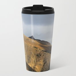Winter is on it's way Metal Travel Mug