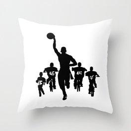 #thejumpmanseries, Boobie Miles Throw Pillow