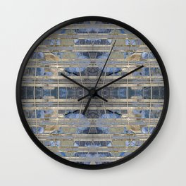 Synchronica geometry II Wall Clock