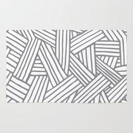 Inter Lines Gray Rug