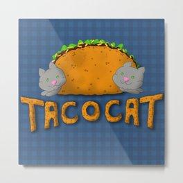 Tacocat Metal Print