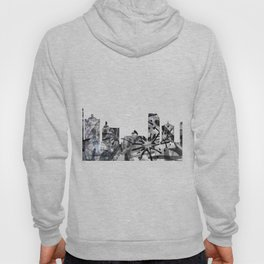 Atlantic City B&W - Splatter Hoody