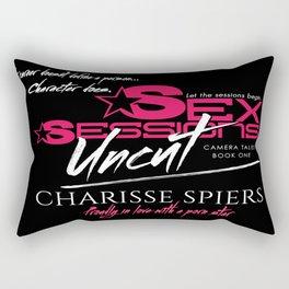 Sex Sessions: Uncut (Camera Tales Novel) Rectangular Pillow