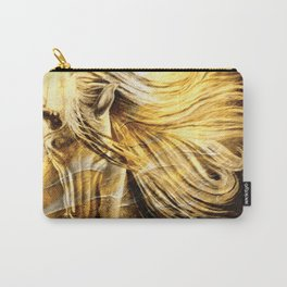 Golden Palomino Equine Art Carry-All Pouch
