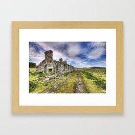 Quarry houses Framed Art Print