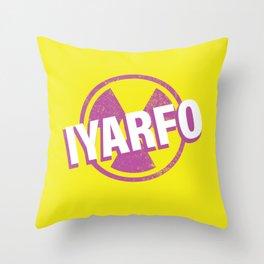 IYARFO Magenta 2 Throw Pillow