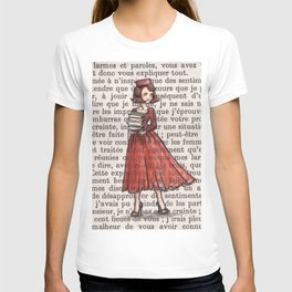 Paris 1962 - Armfuls of Books T-shirt