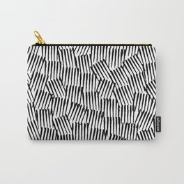 Crosshatched yourself Carry-All Pouch