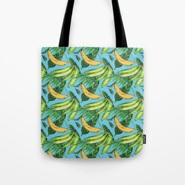Plantain Paradise Pattern - For true plantain fans Tote Bag