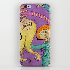 Flying Hug iPhone & iPod Skin