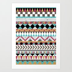Age of the Aztec Art Print