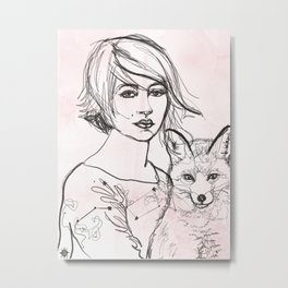 Home Star Metal Print