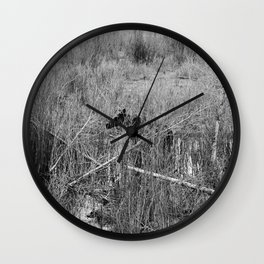Through the Willows Wall Clock