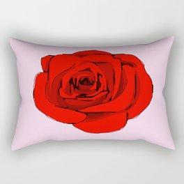 Red Rose. Rectangular Pillow