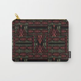 Patchwork seamless snake skin pattern texture Carry-All Pouch