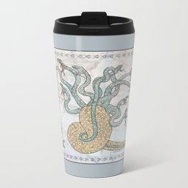 Steve, Bucky and the Hydra Metal Travel Mug