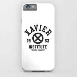 Xavier Institute iPhone Case
