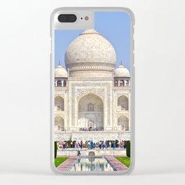 The Taj Mahal India Clear iPhone Case