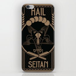 Vegistopheles iPhone Skin