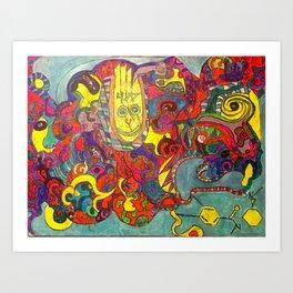 Zero Point Energy Art Print