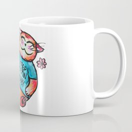 Keep Austin Chubby Chubbycat Coffee Mug