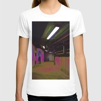 holographic T-shirts featuring Basement 2 by Ieva Samsina