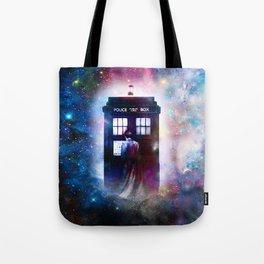 tardis nebula Tote Bag