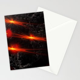 Large asteroid Stationery Cards