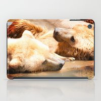 bears iPad Cases featuring Bears by Sylvia C
