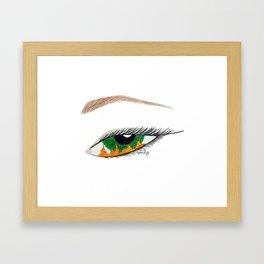 Flames in Sight Framed Art Print