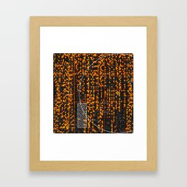 Dreadfully Distinct Framed Art Print