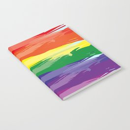 Abstract Rainbow Notebook