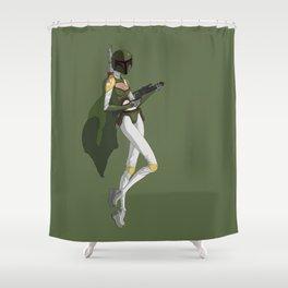 Barbara Fett Shower Curtain
