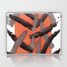 Leather Feathers Laptop & iPad Skin