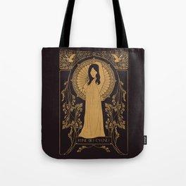 Reine des Cygnes (Gold) Tote Bag