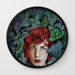 Pamela Isley Wall Clock
