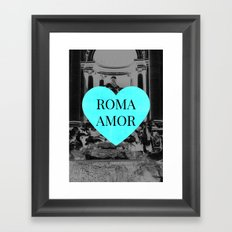 romamor Framed Art Print
