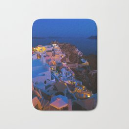 Santorini. Bath Mat